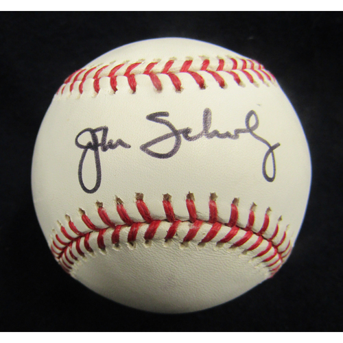 Photo of Braves Charity Auction - John Schuerholz Baseball