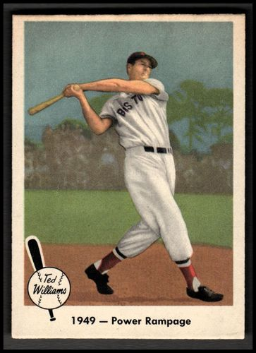 Photo of 1959 Fleer Ted Williams #38 1949 Power Rampage