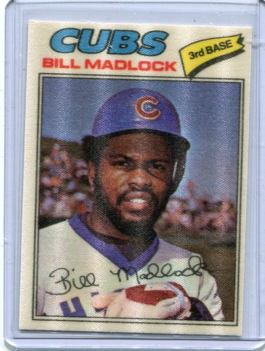 Photo of 1977 Topps Cloth Stickers #25 Bill Madlock