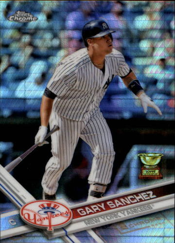 Photo of 2017 Topps Chrome Prism Refractors #122 Gary Sanchez