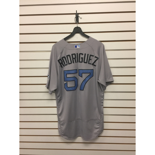 Photo of Victor Rodriguez Game-Used June 18, 2017 Road Jersey