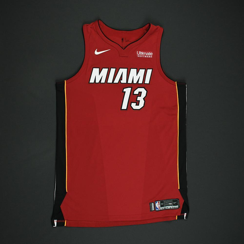 Bam Adebayo - Miami Heat - Game-Worn 'Statement' Jersey - 2017-18 Season