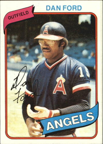 Photo of 1980 Topps #20 Dan Ford