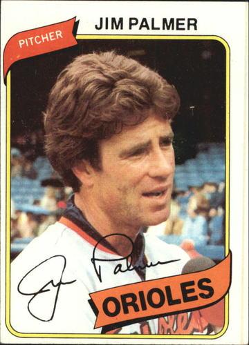 Photo of 1980 Topps #590 Jim Palmer