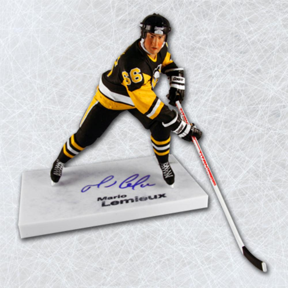 Mario Lemieux Pittsburgh Penguins Autographed McFarlane SP