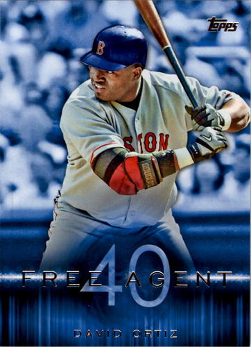 Photo of 2015 Topps Free Agent 40 #F406 David Ortiz