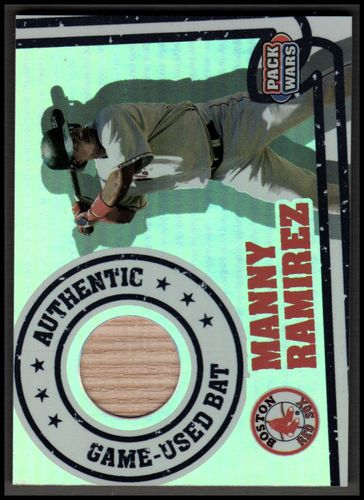 Photo of 2005 Topps Pack Wars Relics #MRB Manny Ramirez Bat B