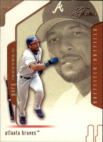 Photo of 2002 Flair #26 Gary Sheffield