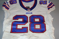 STS - BILLS RONALD DARBY GAME WORN BILLS JERSEY (NOVEMBER 7 2016)