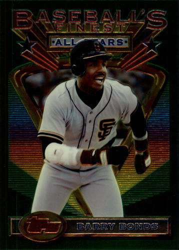 Photo of 1993 Finest Jumbos #103 Barry Bonds