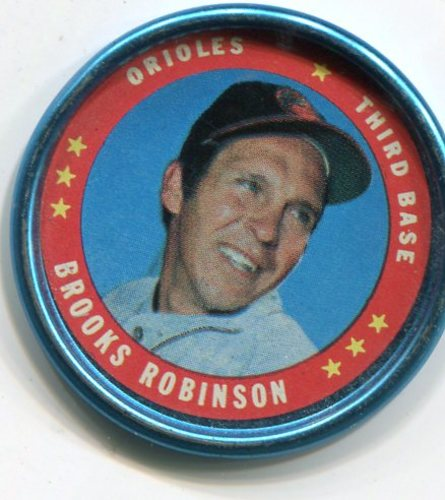 Photo of 1971 Topps Coins #114 Brooks Robinson