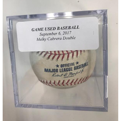 Photo of Game-Used Baseball: Melky Cabrera Double