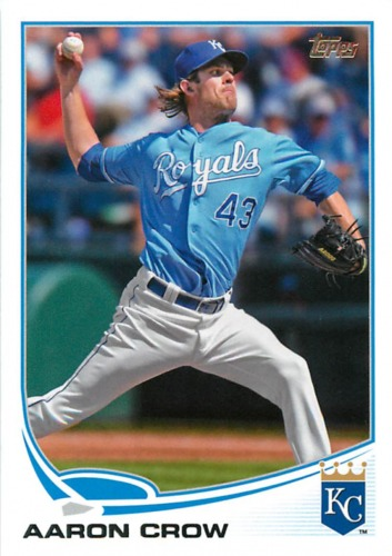 Photo of 2013 Topps #243 Aaron Crow