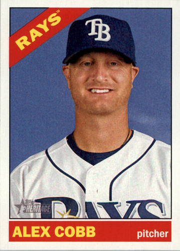 Photo of 2015 Topps Heritage #366 Alex Cobb