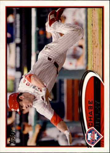 Photo of 2012 Topps #361 Chase Utley