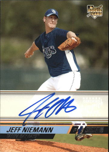 Photo of 2008 Stadium Club #159 Jeff Niemann AU A