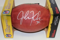 NFL - PACKERS JOHN KUHN SIGNED AUTHENTIC FOOTBALL