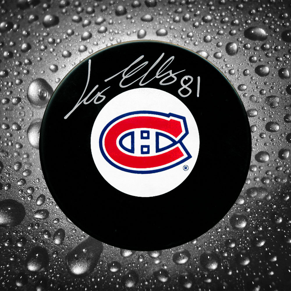 Lars Eller Montreal Canadiens Autographed Puck