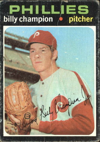 Photo of 1971 Topps #323 Billy Champion