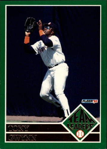 Photo of 1992 Fleer Team Leaders #7 Tony Gwynn