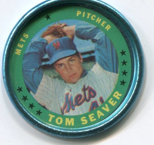 Photo of 1971 Topps Coins #127 Tom Seaver