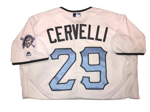 Photo of Francisco Cervelli Game-Used Father's Day Weekend Jersey - Worn on 6/17 & 6/18