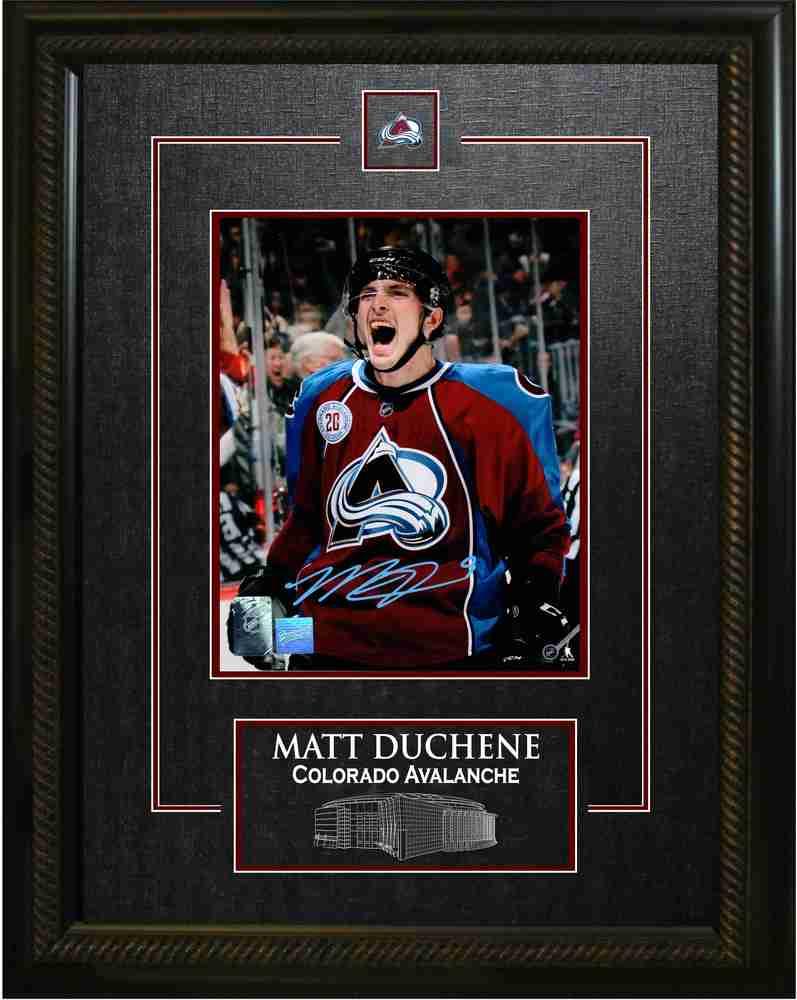 Matt Duchene - Signed & Framed 8x10