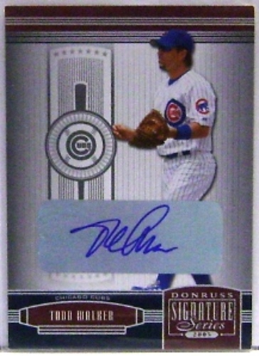 Photo of 2005 Donruss Signature Autograph Silver #29 Todd Walker T5