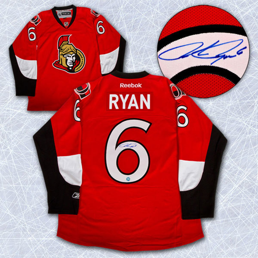 BOBBY RYAN Autographed Ottawa Senators NHL Premier Jersey