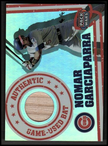 Photo of 2005 Topps Pack Wars Relics #NG Nomar Garciaparra Bat A