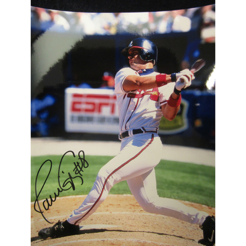 Photo of Braves Charity Auction - Javy López Photo