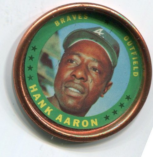 Photo of 1971 Topps Coins #137 Hank Aaron