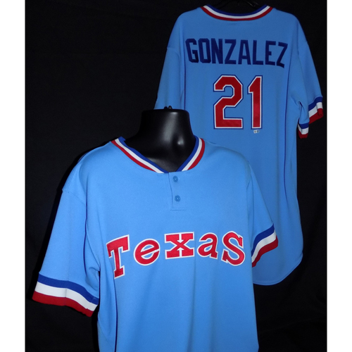 Photo of Chi Chi Gonzalez Team-Issued 1977 Throwback Jersey