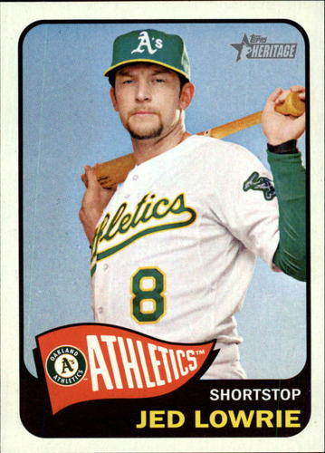 Photo of 2014 Topps Heritage #81 Jed Lowrie