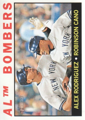 Photo of 2013 Topps Heritage #331 Alex Rodriguez/Robinson Cano