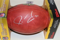 NFL - PACKERS JOSH SITTON SIGNED AUTHENTIC FOOTBALL
