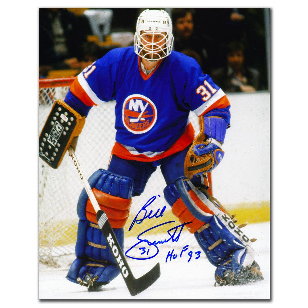 Billy Smith New York Islanders HOF Autographed 8x10