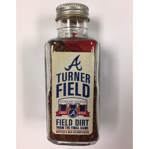 Photo of Turner Field Final Game Dirt Jar