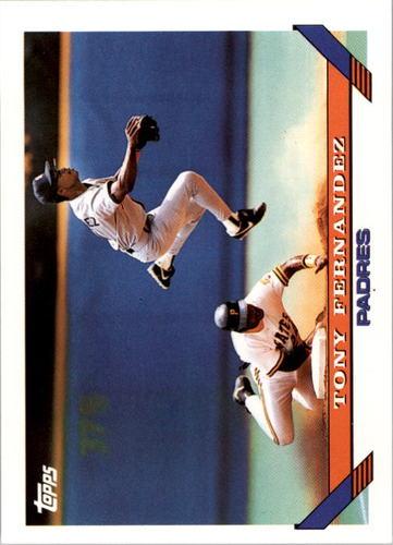 Photo of 1993 Topps #465 Tony Fernandez