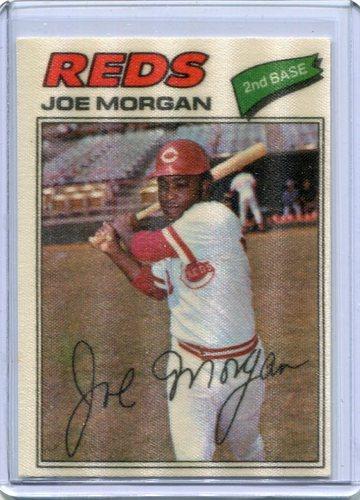 Photo of 1977 Topps Cloth Stickers #31 Joe Morgan
