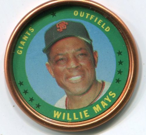 Photo of 1971 Topps Coins #153 Willie Mays