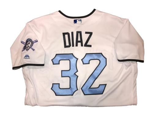 Photo of Elias Diaz Game-Used Father's Day Weekend Jersey - Worn on 6/17 & 6/18