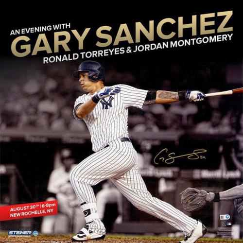 An Evening With Gary Sanchez, Ronald Torreyes, & Jordan Montgomery