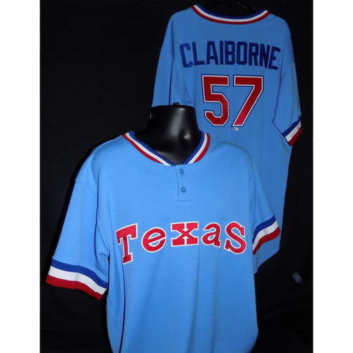 Photo of Preston Claiborne Team-Issued 1977 Throwback Jersey