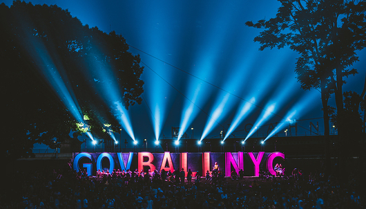 GO VIP AT GOVERNORS BALL MUSIC FESTIVAL IN NYC - PACKAGE 1 OF 7