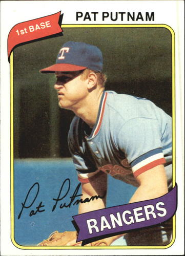 Photo of 1980 Topps #22 Pat Putnam
