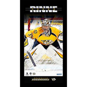 Pekka Rinne Nashville Predators Player Profile 10x20 Framed Photo