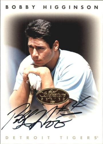 Photo of 1996 Leaf Signature Autographs Gold #101 Bobby Higginson