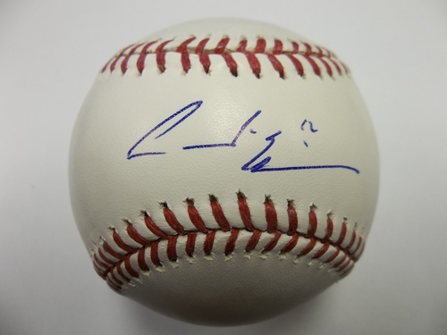 Photo of Andre Ethier Autographed Baseball