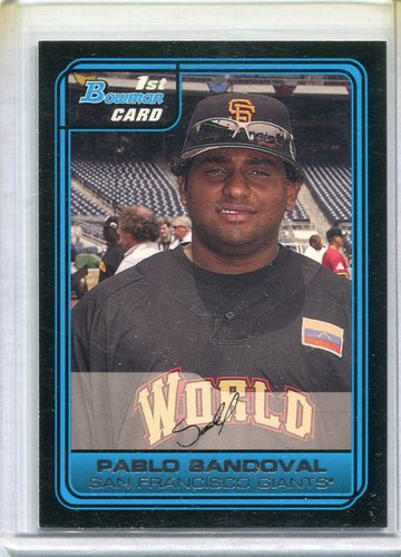 Photo of 2006 Bowman Draft Future's Game Prospects #6 Pablo Sandoval